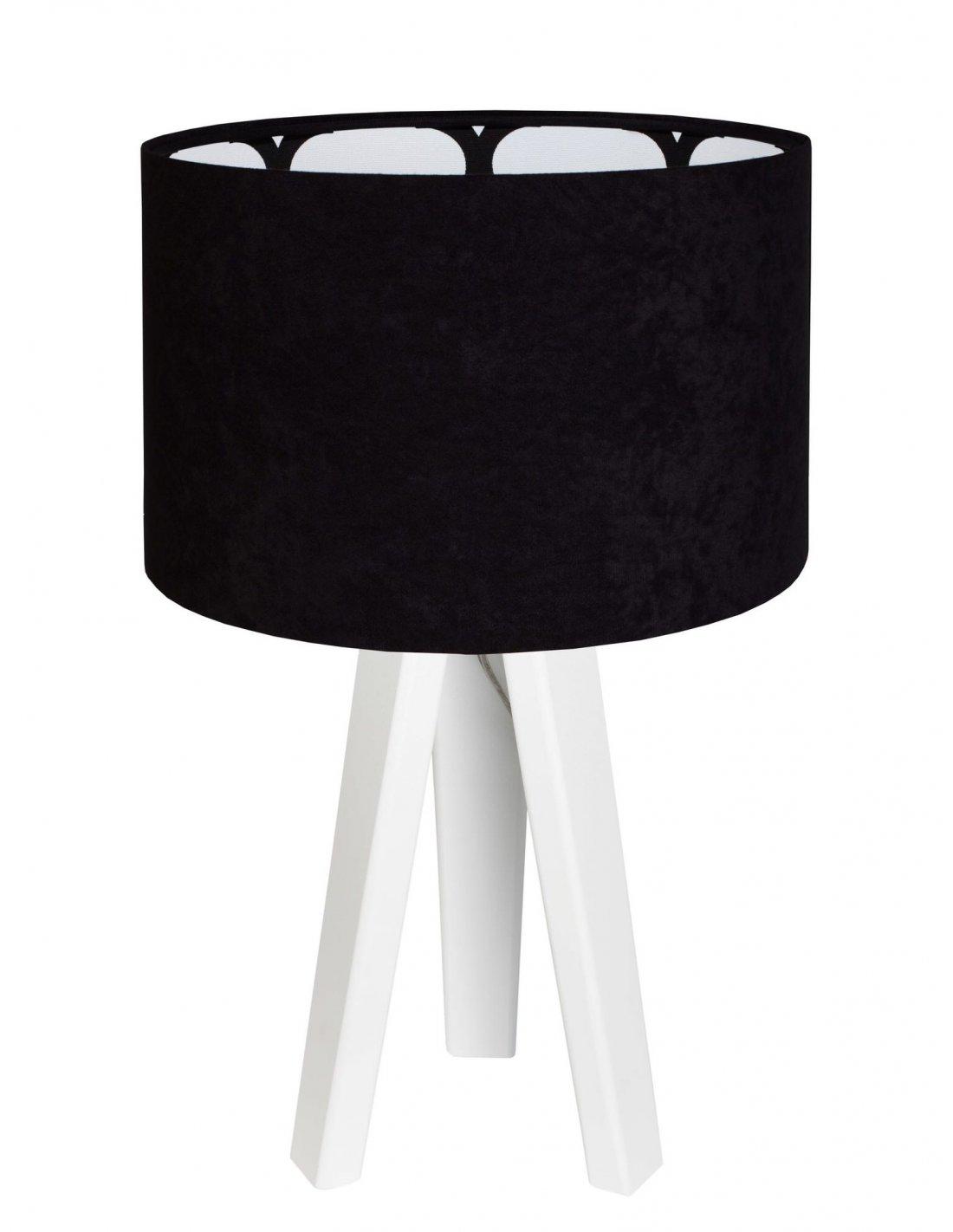 Chevet Velour IntérieurBps Lampe Modern Koncept Motif Avec De Noir If6mgyb7vY