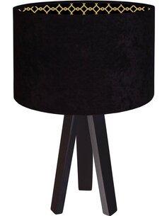 Lampe De Chevet GLAMOUR Pvc Brillant avec Intérieur Décoratif - par BPS Koncept