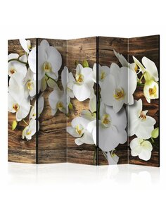 Paravent 5 volets Forest Orchid II  Paravents 5 volets Artgeist