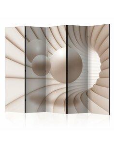 Paravent 5 volets BALLS IN THE TUNNEL II - par Artgeist