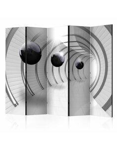 Paravent 5 volets FUTURISTIC TUNNEL II - par Artgeist