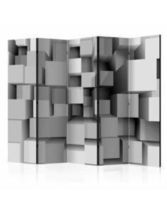 Paravent 5 volets GEOMETRIC PUZZLE II - par Artgeist