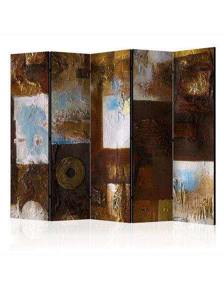 Paravent 5 volets WINTER LANDSCAPE II - par Artgeist
