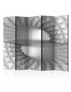 Paravent 5 volets STRUCTURAL TUNNEL II - par Artgeist