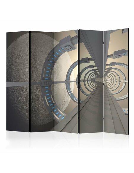 Paravent 5 volets COSMIC TUNNEL II - par Artgeist