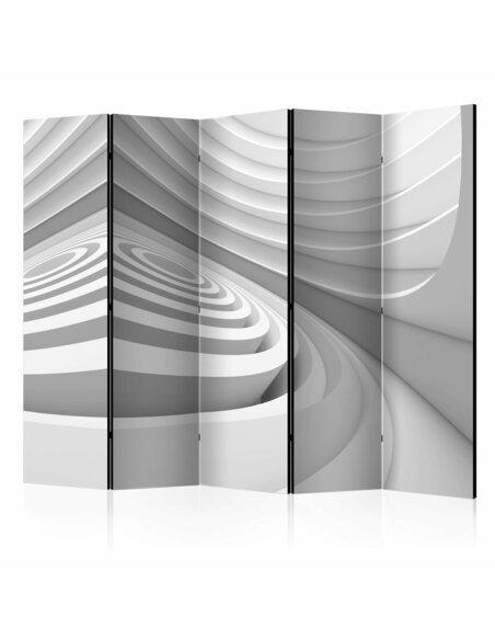 Paravent 5 volets GEOMETRIC TUNNEL II - par Artgeist