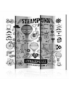 Paravent 5 volets STEAMPUNK II - par Artgeist