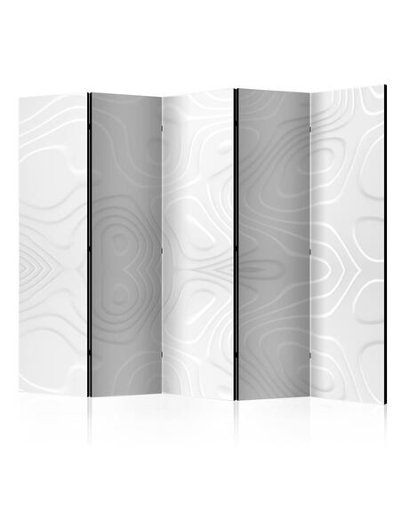 Paravent 5 volets WHITE WAVES II - par Artgeist