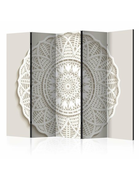 Paravent 5 volets MANDALA 3D II - par Artgeist