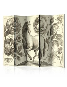 Paravent 5 volets HORSE II - par Artgeist