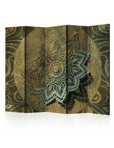 Paravent 5 volets GOLDEN TREASURE II - par Artgeist