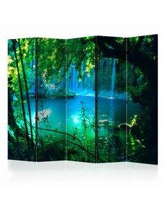 Paravent 5 volets KURSUNLU WATERFALLS II - par Artgeist
