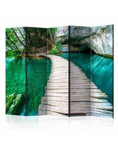 Paravent 5 volets EMERALD LAKE II - par Artgeist