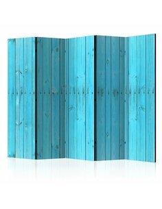 Paravent 5 volets THE BLUE BOARDS II - par Artgeist