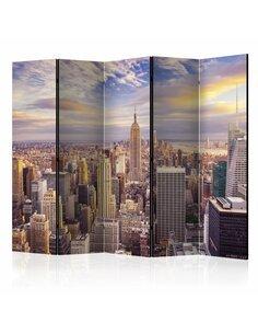 Paravent 5 volets New York Morning II  Paravents 5 volets Artgeist