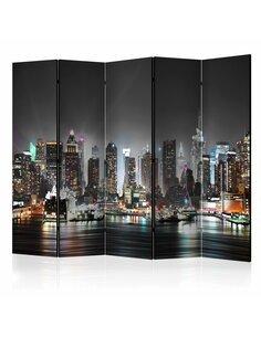 Paravent 5 volets NEW YORK II - par Artgeist