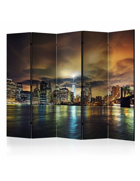 Paravent 5 volets NEW YORK SKY II - par Artgeist