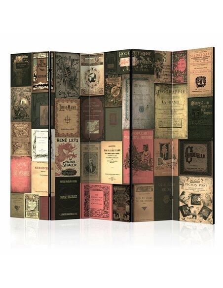 Paravent 5 volets BOOKS OF PARADISE II - par Artgeist
