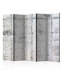 Paravent 5 volets CONCRETE WALL II - par Artgeist