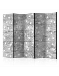 Paravent 5 volets STARS ON CONCRETE II - par Artgeist