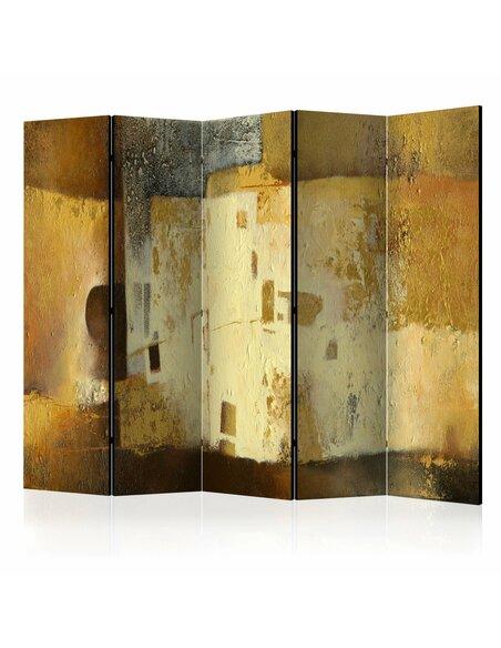 Paravent 5 volets GOLDEN ODDITY II - par Artgeist