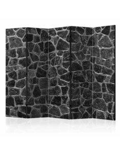 Paravent 5 volets Black Stones II  Paravents 5 volets Artgeist