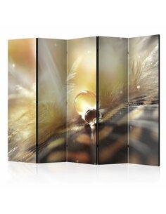 Paravent 5 volets MAGIC FEATHER II [ROOM DIVIDER] - par Artgeist