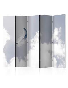 Paravent 5 volets ANGELIC FEATHER II - par Artgeist
