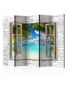 Paravent 5 volets DREAM ISLAND II - par Artgeist