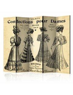 Paravent 5 volets CONFECTIONS POUR DAMES II - par Artgeist