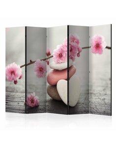 Paravent 5 volets ZEN FLOWERS II - par Artgeist