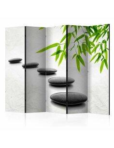 Paravent 5 volets Zen Stones II  Paravents 5 volets Artgeist