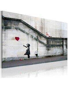 Tableau IL YA TOUJOURS DE L'ESPOIR Bansky - par Artgeist