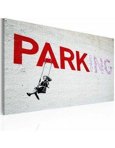 Tableau PARKING Bansky - par Artgeist