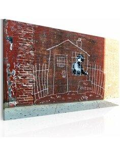 Tableau ENFERMÉ - Art urbain par Artgeist