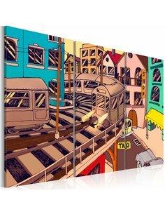 Tableau Triptyque - Gare à New York - par Artgeist