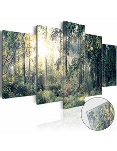 Tableau sur verre acrylique FAIRYTALE LANDSCAPE [GLASS] - par Artgeist