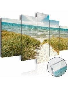 Tableau sur verre acrylique SEA MELODY [GLASS] - par Artgeist