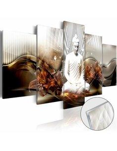 Tableau sur verre acrylique CRYSTAL CALM [GLASS] - par Artgeist