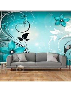 Papier peint grand format SAPPHIRE WINTER - par Artgeist