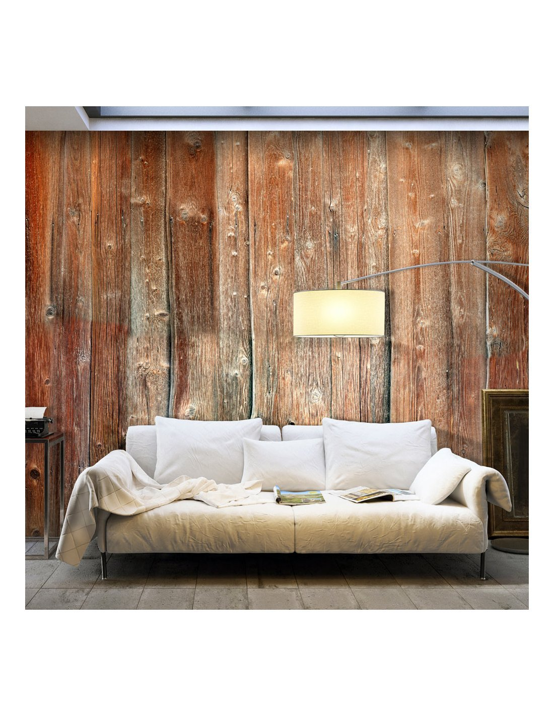 papier peint xxl forest cottage ii 164 90 chez recollection. Black Bedroom Furniture Sets. Home Design Ideas