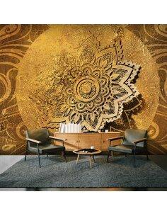 Papier peint grand format GOLDEN ILLUMINATION II - par Artgeist