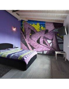 Papier peint STREET ART GRAFFITI - par Artgeist