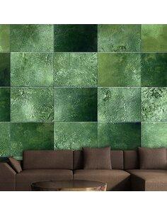 Papier peint GREEN PUZZLE - par Artgeist