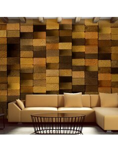 Papier Peint Wooden Wall  Papiers peints Deko Panels Artgeist