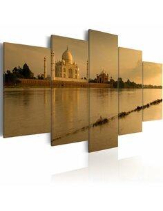 Tableau - 5 tableaux - Le légendaire Taj Mahal Taj Mahal Artgeist