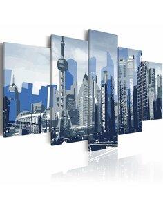 Tableau - 5 tableaux - Rêve de Shanghai - par Artgeist