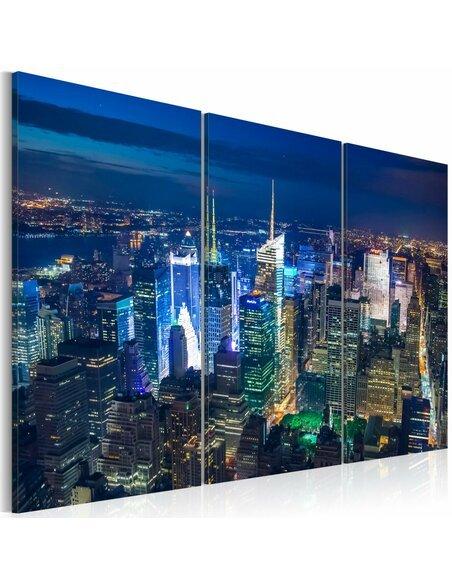 Tableau VUE AÉRIENNE DE LA VILLE DE NEW YORK - par Artgeist
