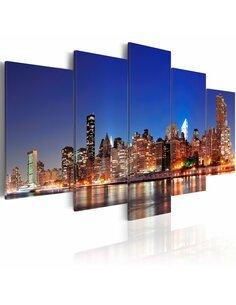 Tableau NEW YORK EN GROS PLAN - par Artgeist