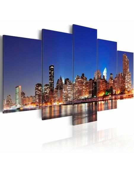 Tableau - 5 tableaux - New York en gros plan New York Artgeist